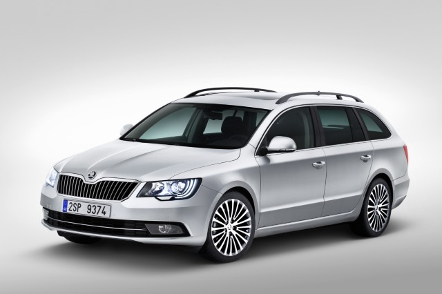 Škoda Superb II facelift