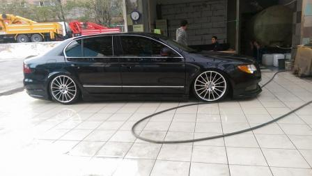 Škoda Superb tuning