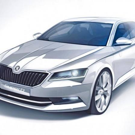 Škoda Superb 3!