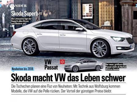 New Škoda Superb 3