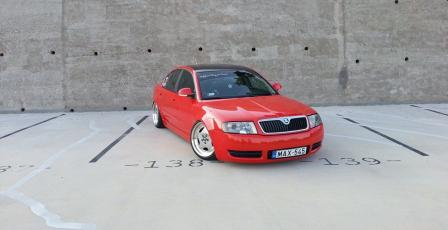 Škoda Superb 1 tuning