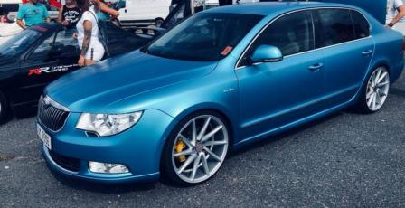 Škoda Superb Blue power