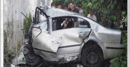 Škoda Superb I Crash
